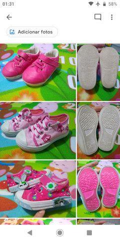 Calçados Bebê Menina 17 ao 21 - Foto 3