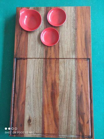 Tábua de madeira pura