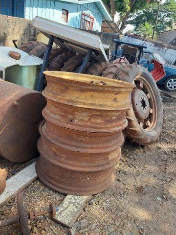 Rodas de pneus finos - Foto 5
