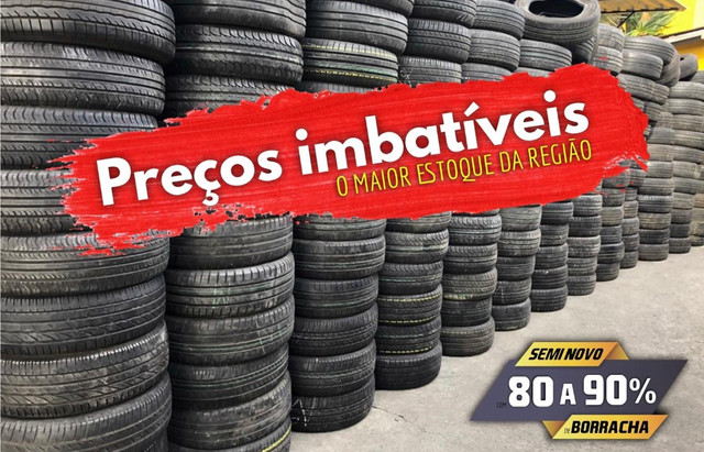 ?pneus semi novos 245/35-20 - Foto 15