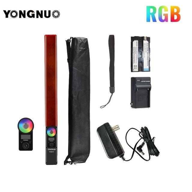 Bastão de led Yongnuo YN360 iii + bateria + carregador + fonte