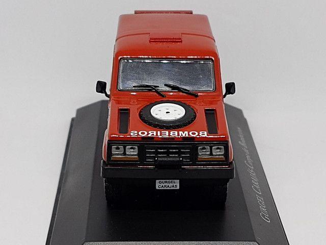 Miniatura Gurgel carajás corpo de bombeiros - Foto 4