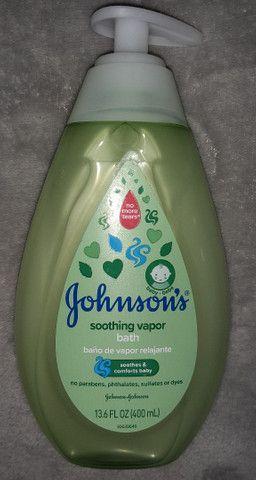 Banho de vapor relaxante  Johnsons