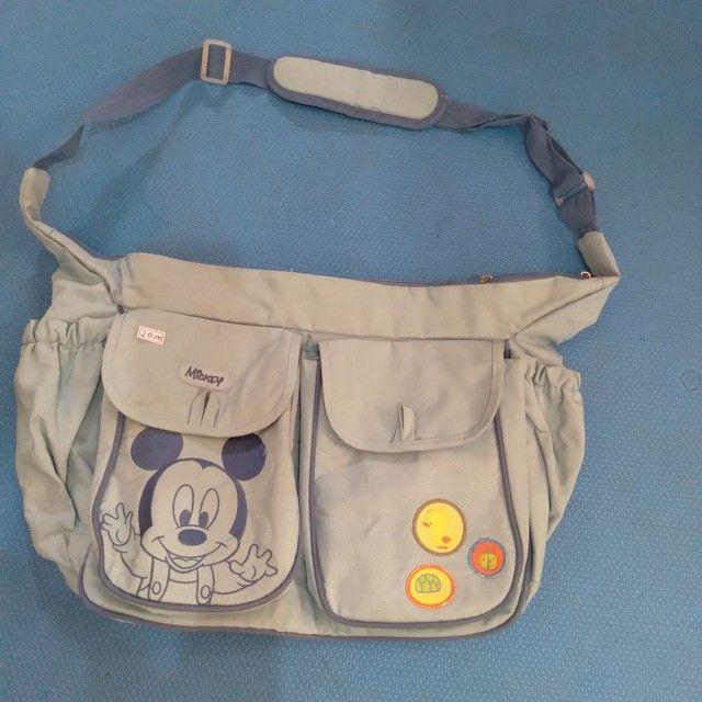 Promoção: bolsa  maternidade e  bolsa  térmica  para mamadeira, os dois por 35,00 reais  - Foto 2