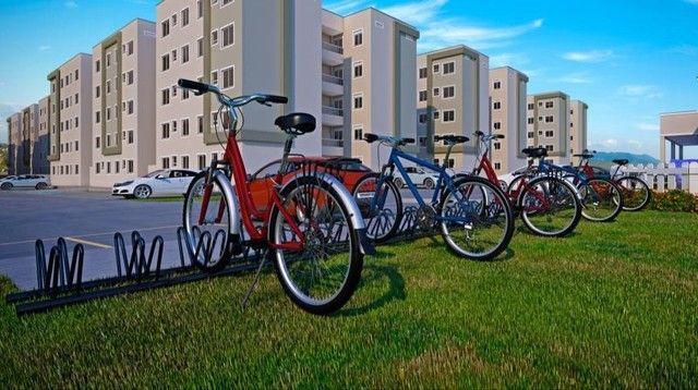  APO  Bairro Planejado Parque Mosaico  Apartamento de 2 Quartos C/ Varanda e Elevador - Foto 3