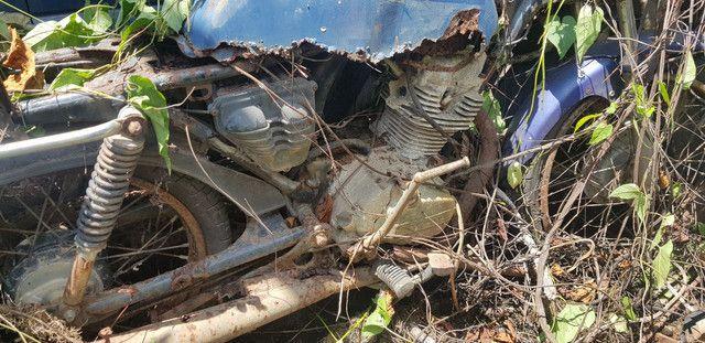 Sucata Honda 125 84 - Foto 3