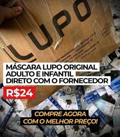 Máscara Lupo. R$24 DIRETO COM O FORNECEDOR!