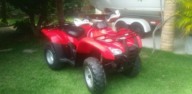 QUADRICICLO HONDA FOURTRAX 420CC 4X4 2011  PNEUS ORIGINAIS