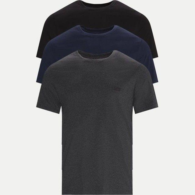 Camiseta hugo boss M , original gola normal.  Uma de cada cor, cinza, preta e azul escuro