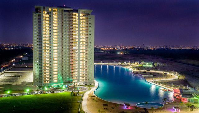Aluguel-  Brasil Beach  155 m² vista para a lagoa ,3 suítes- Cuiabá MT - Foto 3