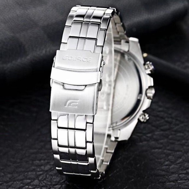 Relógio masculino prova dágua edifíce100% funciona - Foto 3