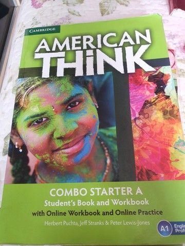 Livro Américan Think