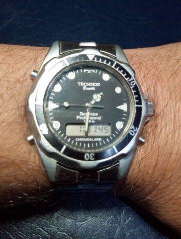 TECHNOS Sky Diver - Relíquia Anos 90 - Foto 6