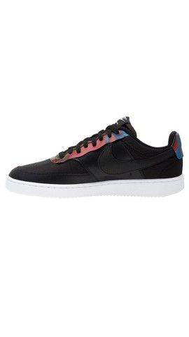 Tênis Nike Court Vision Low Prem Preto Masculino - Foto 2