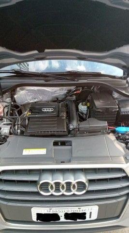 Audi / Q3 - Ambiente c/ Teto Solar Panorâmico muito nova - Foto 14