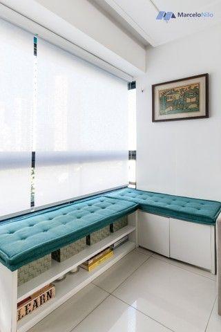 Apartamento  nos Aflitos, 75m2, 3 quartos, 2 suítes, 2 vagas soltas e mobiliado - Foto 8