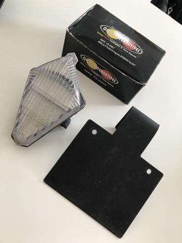 Lanterna R1 Pisca Embutido + Eliminador de Suporte de Placa
