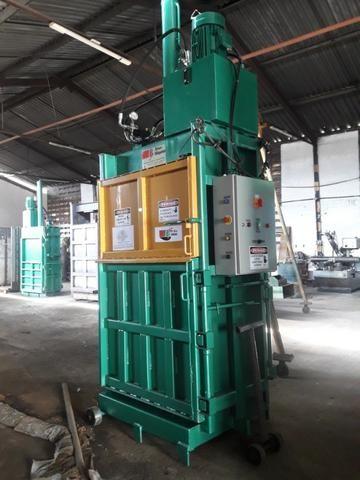 Prensa Para Reciclagem - Fardos de papelão, pet, alumínio, etc - Foto 2