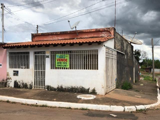 Noble Vende -Gama casa com 03 quartos lote de esquina vazado aceita apartamento na troca - Foto 2