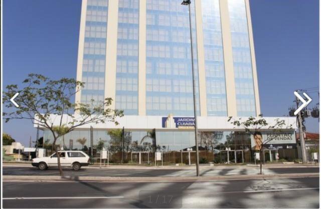 Sala comercial vitrine térrea com 126m2, Ed, Jardim Cuiabá Office, Av. Miguel Sutil
