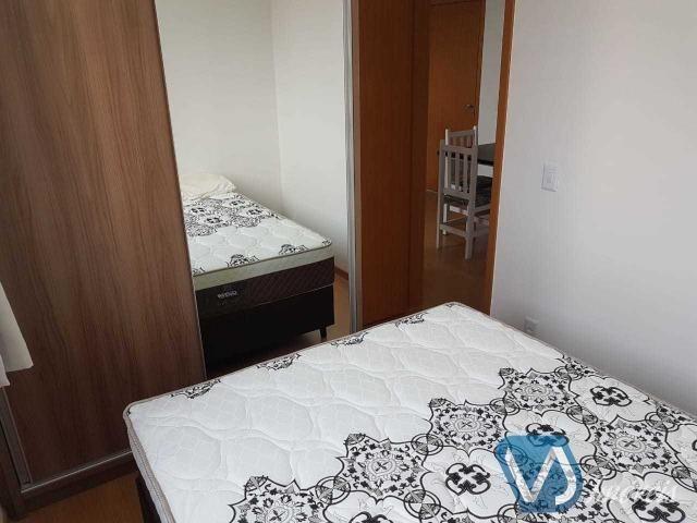 Apartamento mobiliado com 2 quartos no Cond. Lagoa Dourada - Jd. Acquaville, Londrina/PR - Foto 10