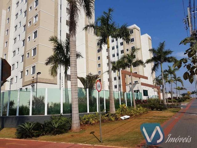 Apartamento mobiliado com 2 quartos no Cond. Lagoa Dourada - Jd. Acquaville, Londrina/PR - Foto 2