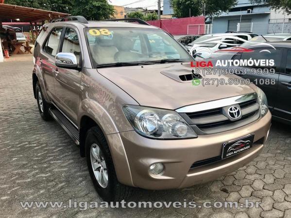 Toyota Hilux Sw4 Srv 4x43.0 Tdi Diesel Aut 2008 Oportunidade