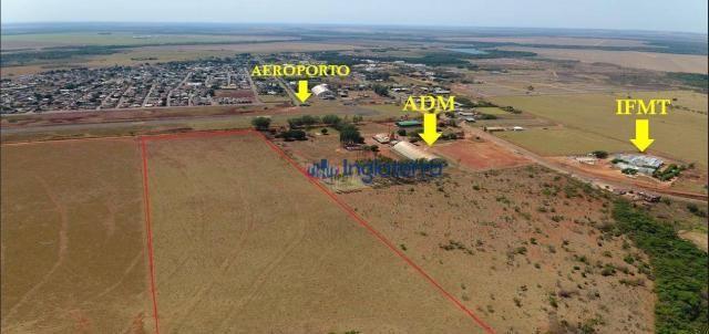 Área à venda, 110000 m² por r$ 4.400.000,00 - novo diamantino - diamantino/mt - Foto 4