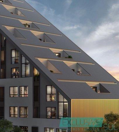 Flow residencial no Parque Una.  Unidade studio com 34 m² em edifício moderno. - Foto 3