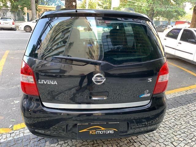 Nissan Livina S Automático Multimídia com Câmera de Ré Couro Rodas Impecável 2014 - Foto 5