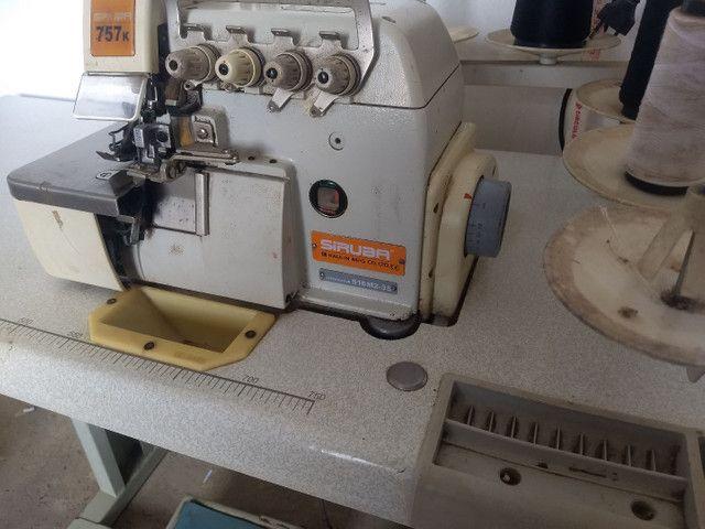 Máquina de custura siruba industrial - Foto 4
