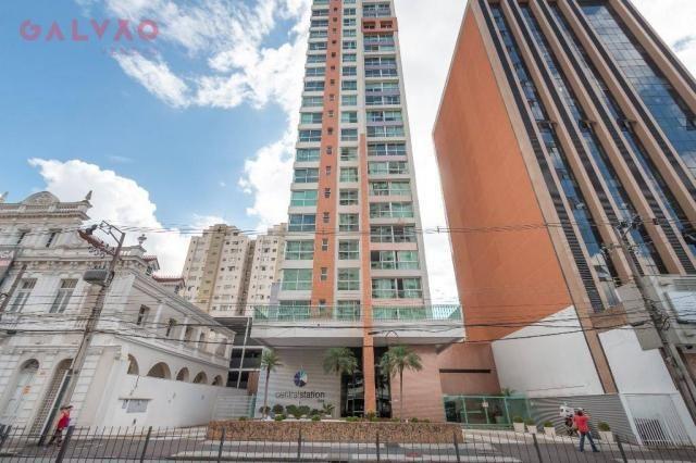 Apartamento com 1 dormitório à venda, 33 m² por R$ 238.156,90 - Centro - Curitiba/PR - Foto 16
