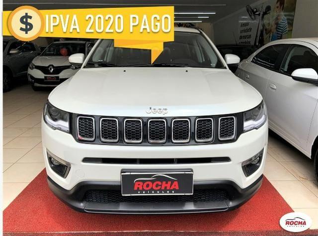Jeep Compass 2.0 Longitude (Aut) (Flex) 2018!!! IPVA 2020 Pago!!!