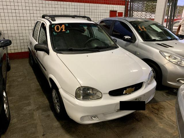 Chevrolet Corsa Sedan Classic 1.0 Branco
