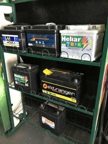Baterias seminovas diversas 100,00 com noventa dias de garantia