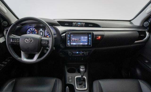 Toyota Hilux 2.8 SRV 2016 Blindado Branco Automático Completo - Foto 7