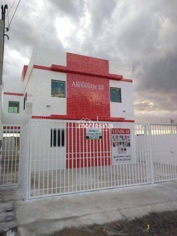 Apartamento com 2 quartos à venda por R$ 140.000 - Manoel Camelo - Garanhuns/PE