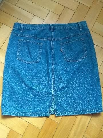 Saia Jeans Tam 46/48 - Foto 3