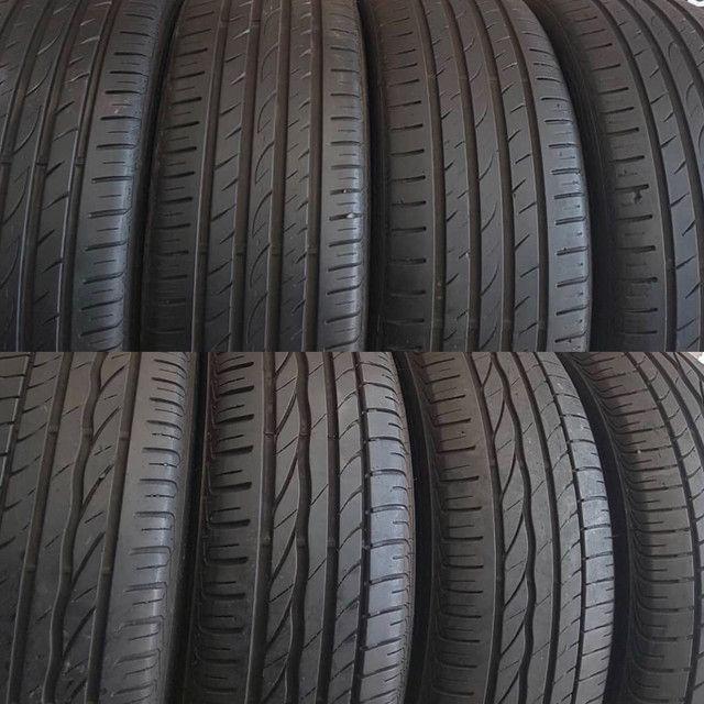 ?pneus semi novos 245/35-20 - Foto 2