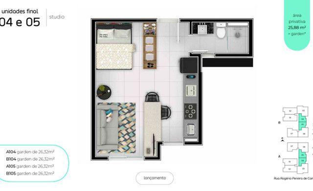 Apartamento de 1 quarto de alto padrão - 200 metros da Universidade Positivo :) - Foto 3