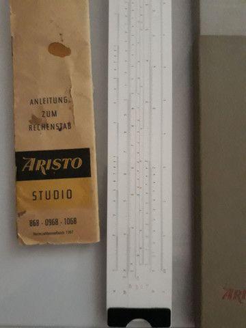 Regua de cálculo Aristo com manual - Foto 2