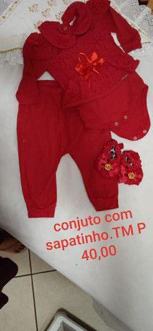 TorrrO roupa de bebe tm P - Foto 4