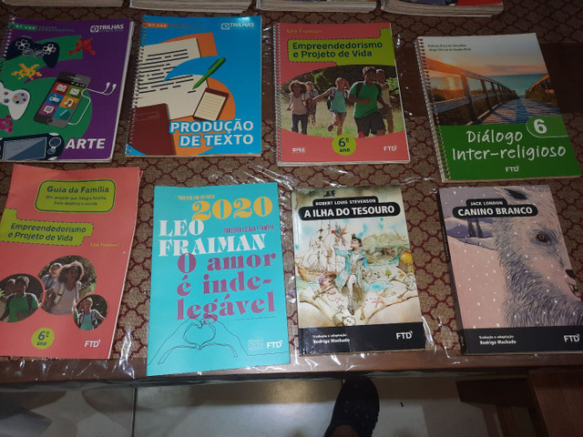 Livros ftd sexto ano ensino fundamental -trilhas - esic - Foto 2