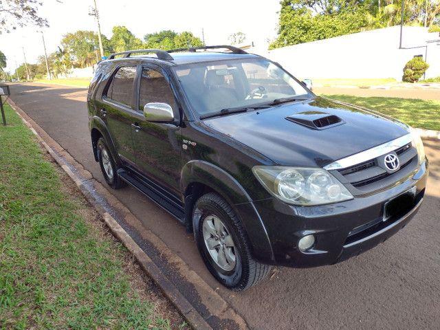 Hilux Sw4 2007 diesel 7 lugares pneus novos aceito troca