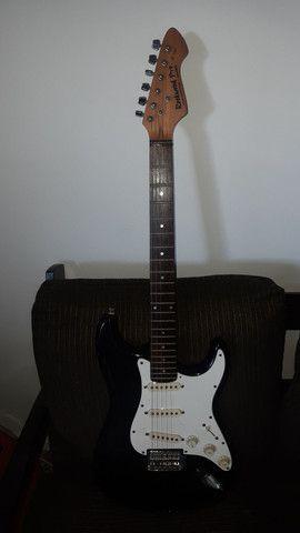 Rara Guitarra Hohner Rockwood Pro