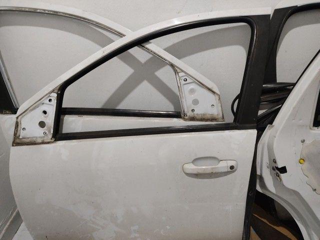 Porta Dianteira Traseira e Mala Fiesta Sedan 04/14 Branco