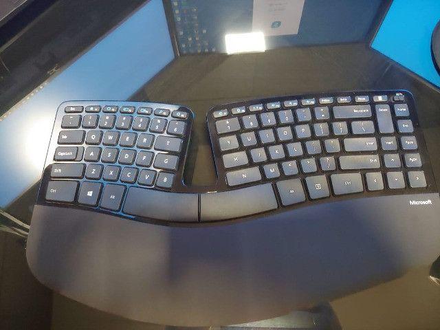 Kit completo - Mouse, Teclado numérico e ergonômico - Foto 6