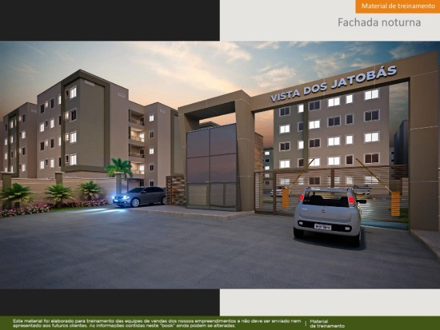  APO  Vista dos Jatobás - Apartamento de 2 Quartos se mude em 2022 para sua casa Própria