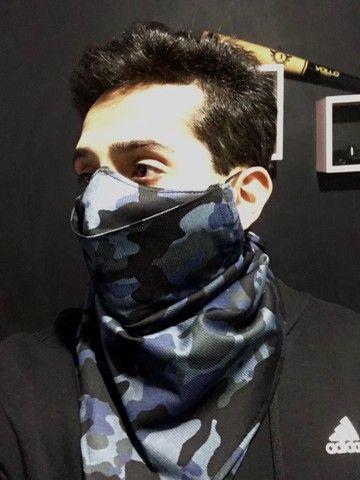 Máscara lenço e máscaras