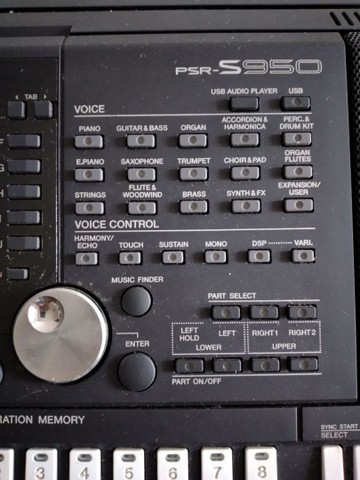 Teclado Yamaha PSR S950  - Foto 3